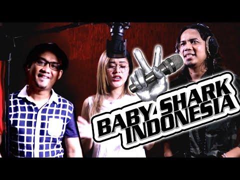 Baby shark terbaru artis Indonesia song paling politis. ( Double A, Mumun, Zian ) #Shopee