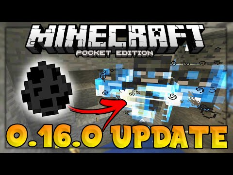 MCPE 0.16.0 Build 4 Update - SECRET WITHER SPAWN EGG! - Minecraft PE (Pocket Edition)