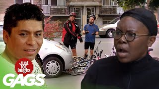Crashing Bikes, the dog Swap and MORE! | Just for Laughs Compilation