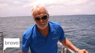 Below Deck: Captain Lee Comes Down On This Charter Guest (Season 6, Episode 1) | Bravo