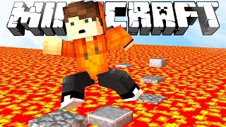 ПОЛ ЭТО ЛАВА! [MINECRAFT FLOOR IS LAVA SKYWARS]