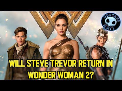 Will Steve Trevor return in WONDER WOMAN 2?