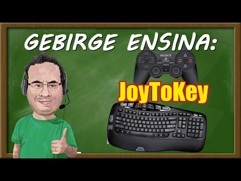 Gebirge ensina: JoyToKey - Configurando Joysticks no PC