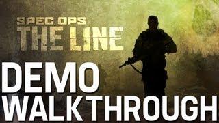 Spec Ops: The Line Demo Full Gameplay Walkthrough