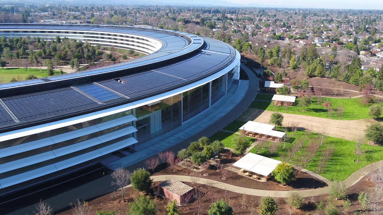 Apple park january 2018 construction update youtube - Swimming pool contractors apple valley ca ...