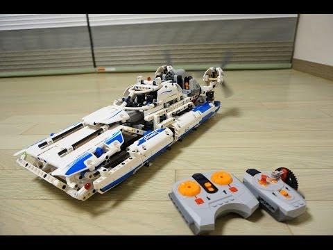 lego technic 42025 b model pf rc motorized hovercraft by. Black Bedroom Furniture Sets. Home Design Ideas