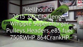 """""""Hellhound"""" 2015 392 Challenger 750RWHP 864CrankHP"""