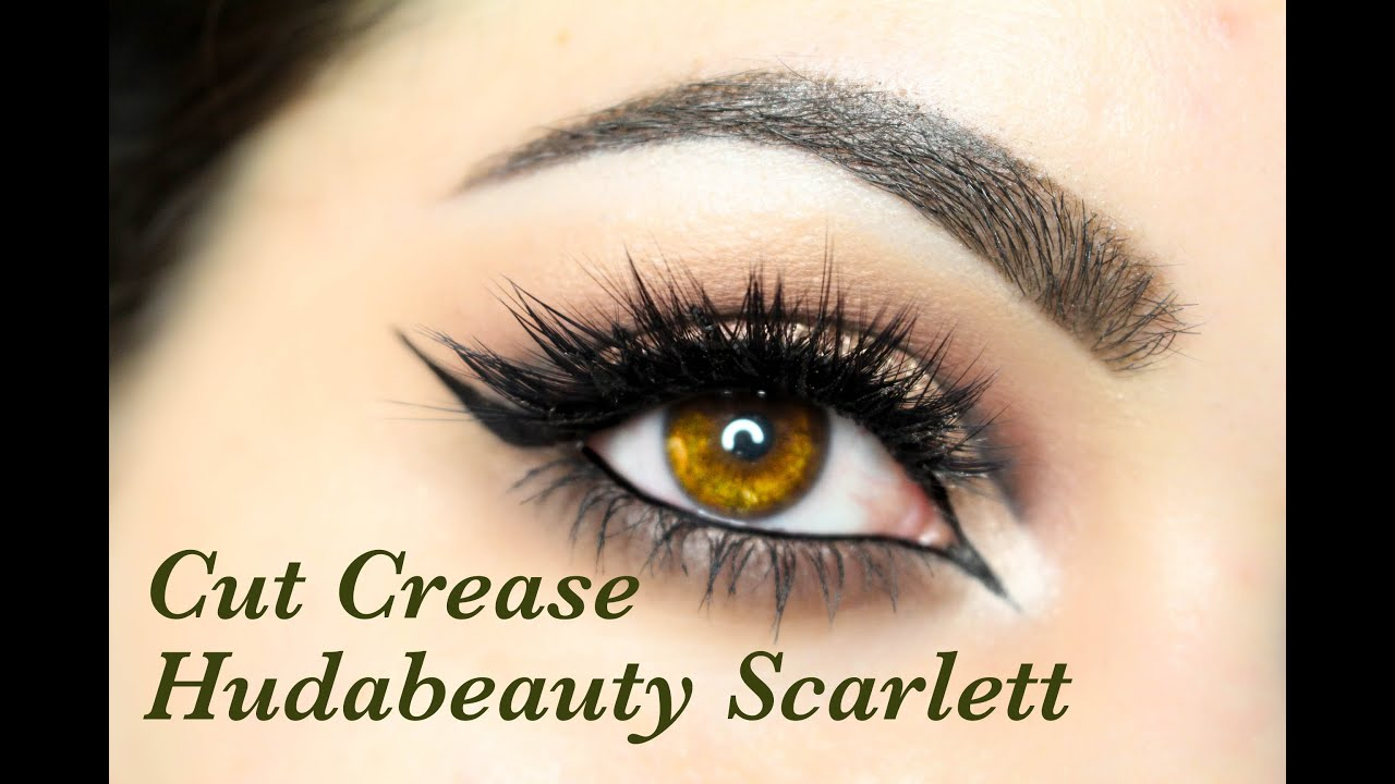7883f64a7ff Cut Crease + new Hudabeauty Scarlett lashes | gkhairmakeup - YouTube