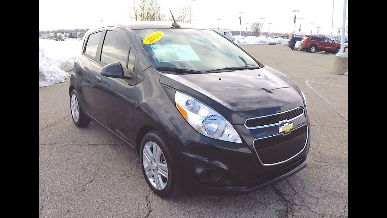 2014 chevrolet spark ls black | cars with great gas mileage | over
