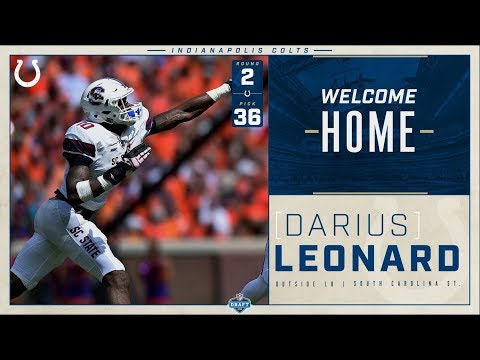 Darius Leonard Welcome to the Colts 2018