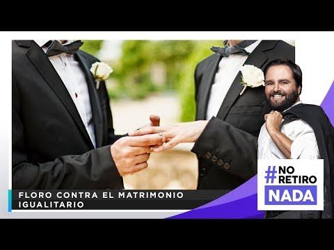 Floro contra el matrimonio igualitario - NO RETIRO NADA con Alberto De Belaunde