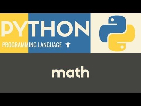 Math   Python   Mike Dane
