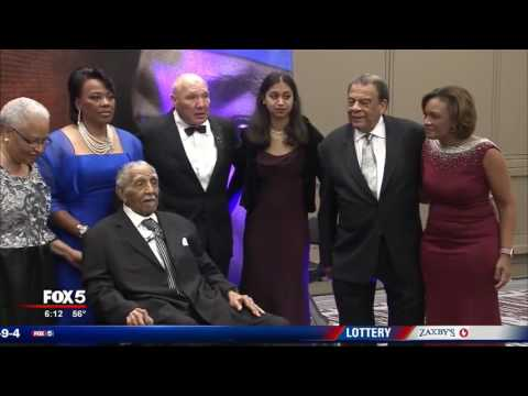Civil rights leader Rev. Dr. Joseph E. Lowery honored