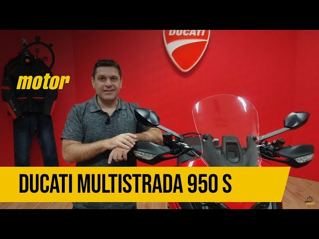 Mais conectada, nova Ducati Multistrada 950 S é 'rede social' sobre duas rodas