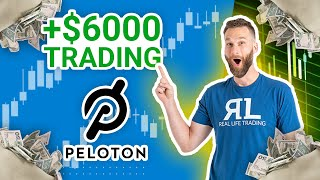 How our traders were able to score over 3R's (or $6,000+) on PTON in just 3 DAYS!
