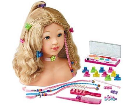 How To Style BARBIE Doll Hair Hair Tutorial & Moxie Girl Makeover