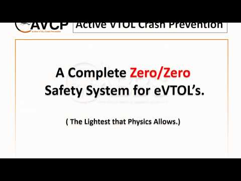 AVCP eVTOL Crash Prevention October 2017 Timed