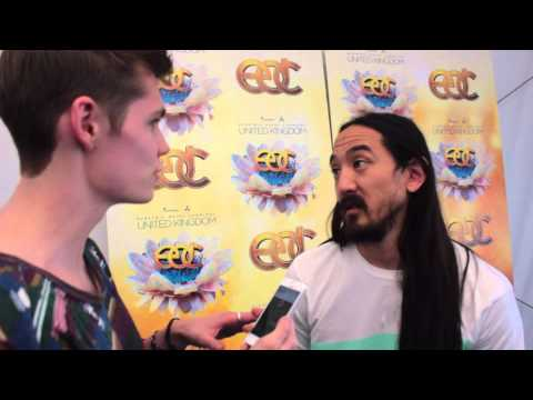 INTERVIEW: Gig Pic Chat To Steve Aoki Backstage At EDC UK