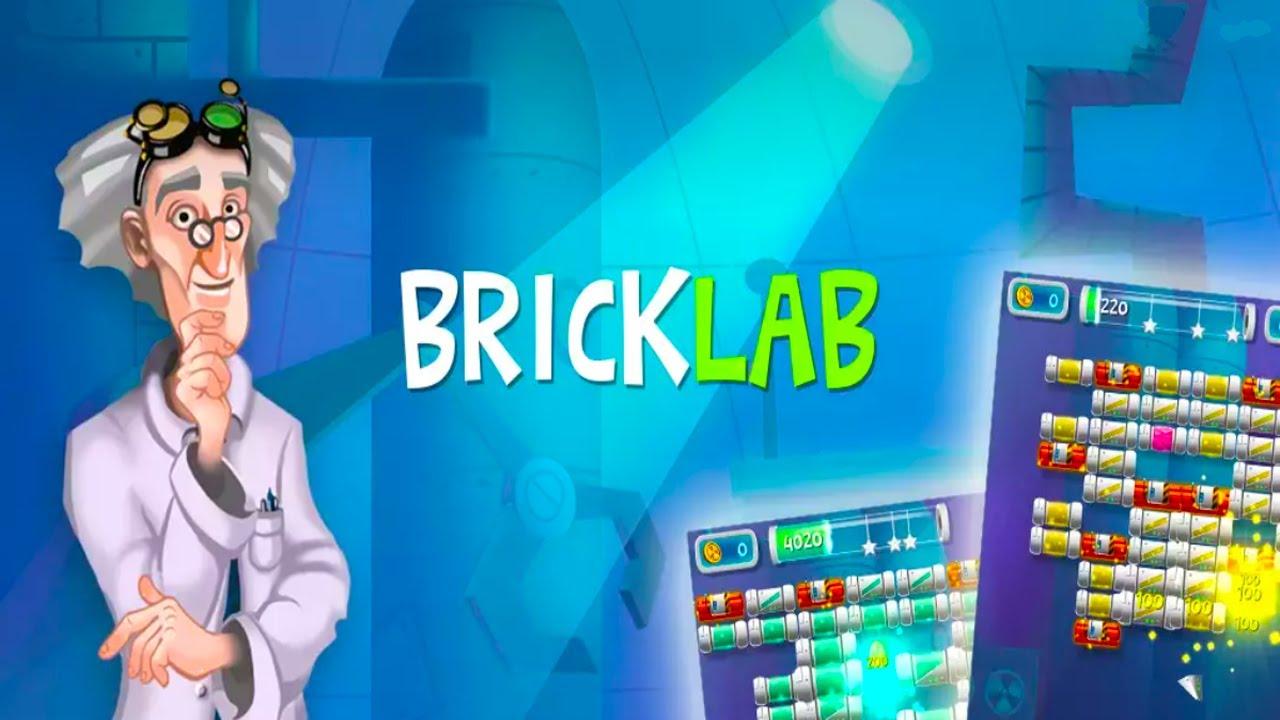 Brick Breaker Lab Android Gameplay u1d34u1d30