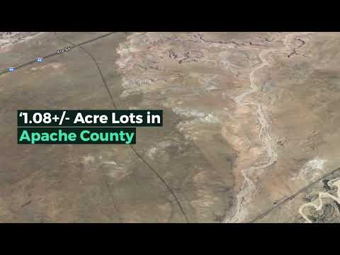 Invest in 1 Acre lots in Apache County Arizona