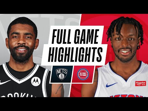 NETS at PISTONS | FULL GAME HIGHLIGHTS | February 9, 2021