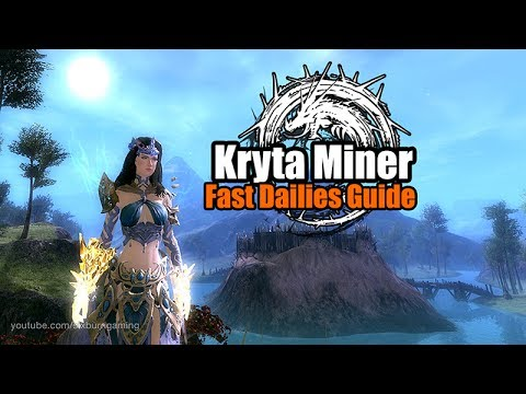 🎮Guild Wars 2: Daily Kryta Miner - Fast Dailies
