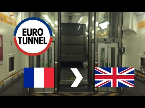 Eurotunnel Le Shuttle: From France To UK (Full Journey On Co