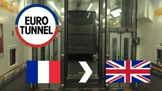 Eurotunnel Le Shuttle: From France To UK (Full Journey On Coach) (Saturday: 03/12/2016)