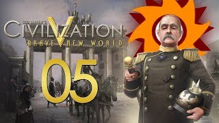 Civilization V Brave New World as Germany - Episode 5 ...Counter-Attack!...