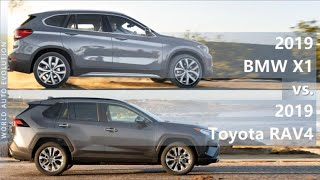 2019 BMW X1 vs 2019 Toyota RAV4 (technical comparison)
