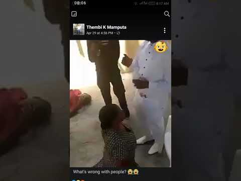 DEEP: SEE WHAT THIS PASTOR DID TO THIS WOMAN IN CHURCH