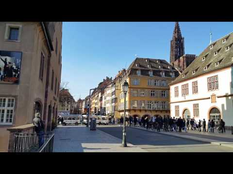Strasbourg, France : Authentic Gothic Architecture of Strasbourg