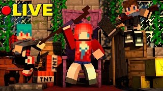 LIVE : Minecraft [Lucky Blocks] มาดูกันว่าใครจะชนะ Ft.Uke-Uke , Taejk