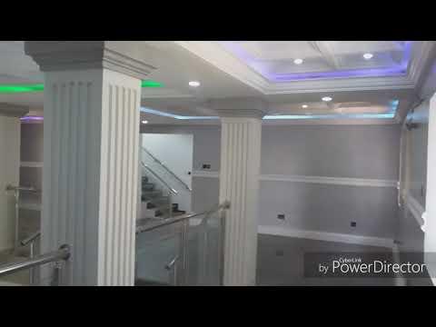 Most expensive house in ikorodu,Lagos, Nigeria.  (residential duplex)POP ceiling ,3D wall panel..etc