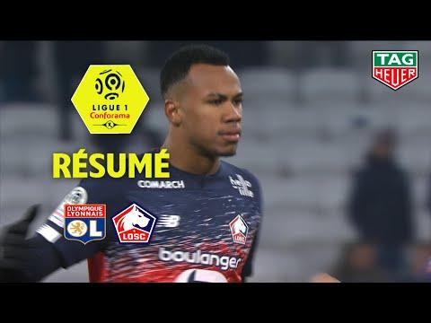 Olympique Lyonnais - LOSC ( 0-1 ) - Résumé - (OL - LOSC) / 2019-20