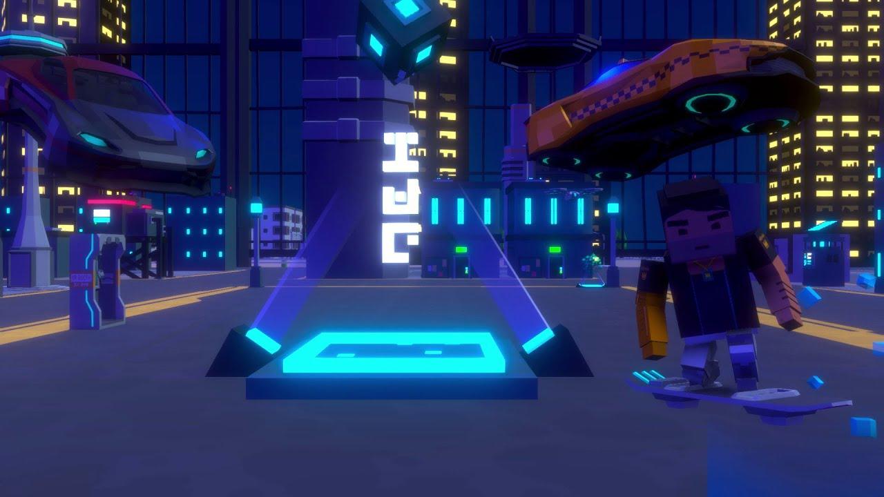 Big City 2.0 concept? Simple sandbox 2 | Sci fi city | Simple sandbox 2 Animated concepts #2 |