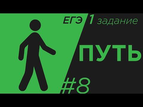 Задание 1#8 .ЕГЭ физика. Путь кинематика
