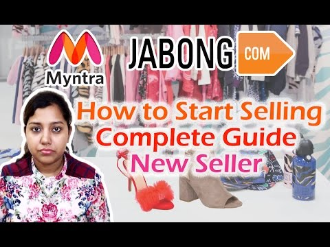 How to Sell on Jabong Myntra | Complete New Seller guide in Hindi