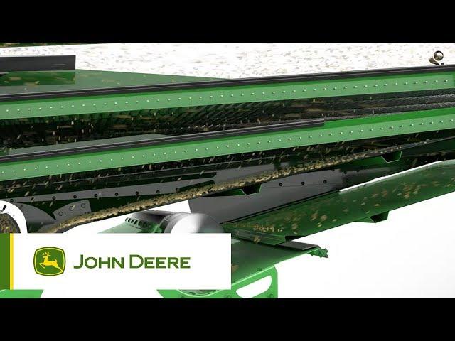 John Deere S700 - #7 Il cassoncino di pulizia DynaFlo Plus