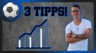 Besser Fußball spielen! ► 3 TIPPS wie du WIRKLICH besser wirst!