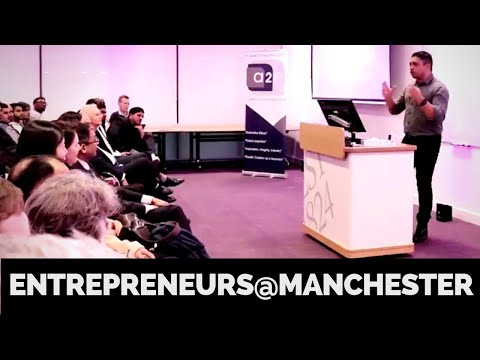 Entrepreneurs @ Manchester interview at Alliance Manchester Business School