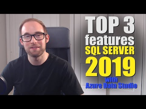 SQL Server 2019 Top 3 New Features And PolyBase Demo!