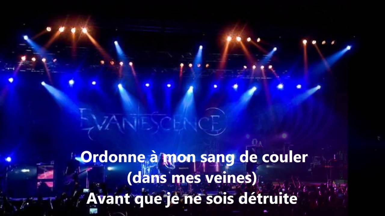 Evanescence - Bring Me To Life traduction Français - YouTube