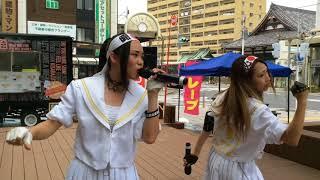 2018/07/22スパークルガーデンウッドデッキ完成お披露目イベント 炎天下...