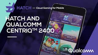 Mobile Cloud Gaming with HATCH and Qualcomm Centriq 2400 (HD)