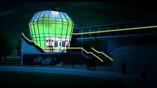 平溪分駐所波麗士天燈秀模擬影片