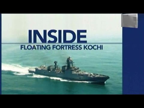A Look Inside Floating Fortress INS Kochi