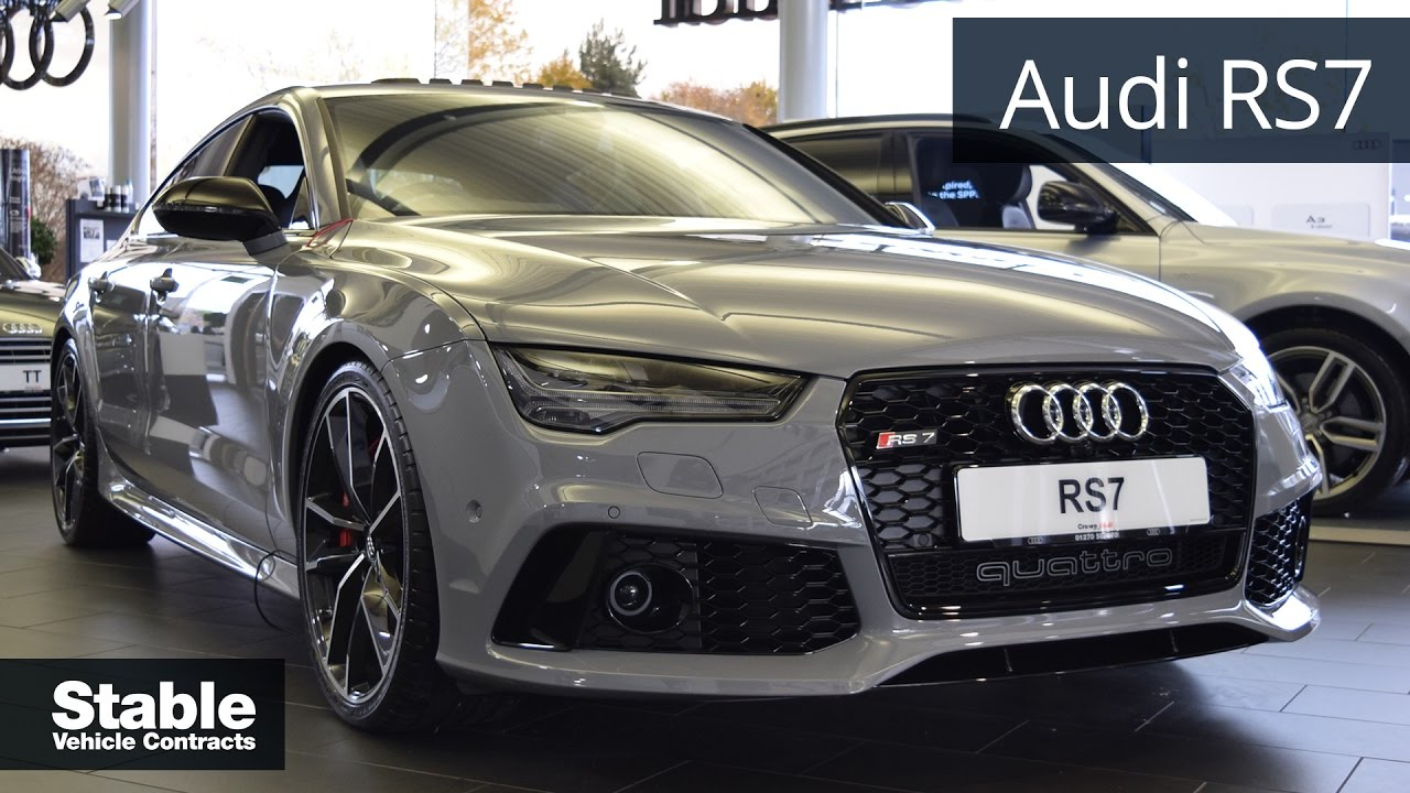 Audi Rs7 Sportback In Nardo Grey Walkaround Youtube