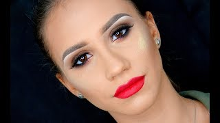 HOW TO : Smokey Eyes & Red Lips