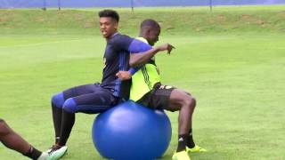 Zouma I am so happy being back in training